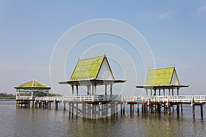 Pavilion On The Water. Stock Images - Image: 24914024