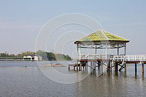 Pavilion On The Water. Stock Image - Image: 24914071
