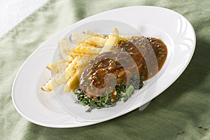 Rib Eye Steak Stock Photo - Image: 24915890