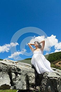 Enjoy Summer In Nature Royalty Free Stock Photos - Image: 24918828