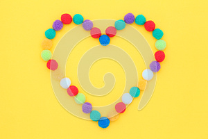 Colorful Cotton Balls Stock Images - Image: 24922054