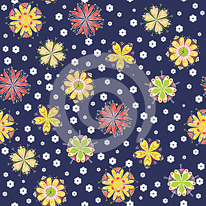 Fun Flower Background Royalty Free Stock Photos - Image: 24922418