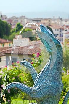 Vivre By Jean-Michel Folon (Florence) Stock Photography - Image: 24926832