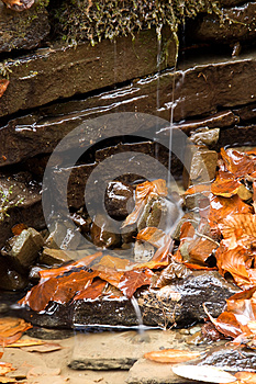 Mini Waterfall Royalty Free Stock Photography - Image: 24926957
