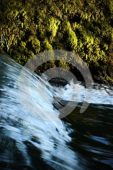 Small Waterfall Royalty Free Stock Photography - Image: 24928117