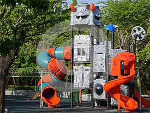 Playground Royalty Free Stock Image - Image: 24928126