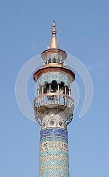 Minaret Stock Images - Image: 24930534