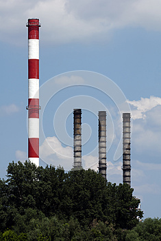 Heating Plant-3 Royalty Free Stock Photos - Image: 24931648