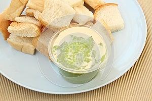 Bread With Custard Stock Image - Image: 24933661