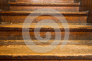 Old Wooden Steps Stock Photo - Image: 24950310