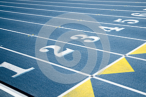Numbers Of Tracks Royalty Free Stock Photography - Image: 24951527