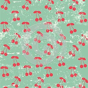 Cherry Pattern Stock Photos - Image: 24973773