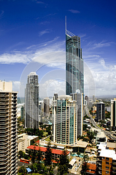 Q1 Tower, Gold Coast Stock Photography - Image: 24979072