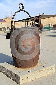 Old Ore Bucket Royalty Free Stock Image - Image: 24982976