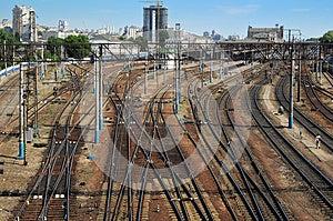 Railways Royalty Free Stock Photo - Image: 24988055
