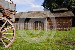Barns And Wagon Stock Images - Image: 24989794