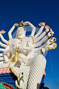 Guan Yim At Koh Samui Royalty Free Stock Photos - Image: 24990298