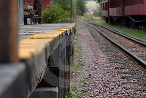 Railroad Platform Stock Photos