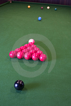 Snooker Balls Free Stock Photo