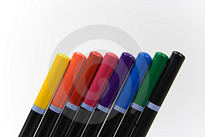 Colored Pencils Free Stock Photo