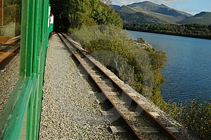Rail Track Free Stock Photo