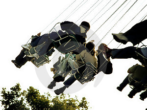 Chairoplane 4 Free Stock Images