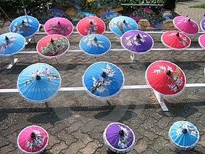 Umbrellas Stock Image