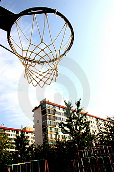 Basketball Hoop Free Stock Photo