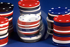 Poker Chips Free Stock Photos