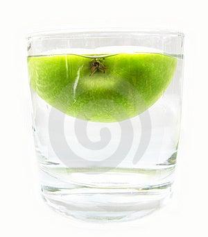 Apple Juice Free Stock Photography