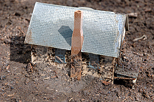 Mud House 2 Stock Images
