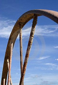 Rusty Wheel Free Stock Photo