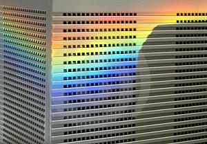 Colour Monitor Stock Photos