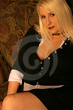 Business Blonde 2 Stock Photography