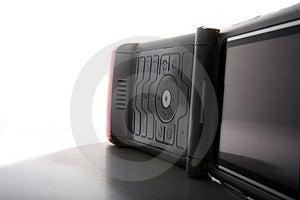 Open Telefoon In Schaduw Stock Fotografie - Afbeelding: 2501622