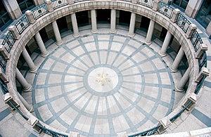 Circular Foyer Royalty Free Stock Image - Image: 2504296