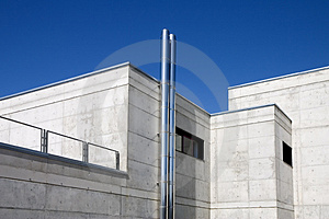 Modern Public Building Stock Photo - Image: 2505380