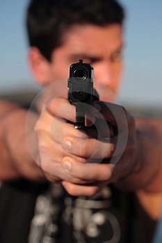 Don't Shoot 1 Royalty Free Stock Image