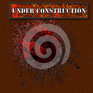 Under Construction. Stock Images - Image: 25000254