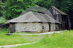 House Water Mill Stock Photos - Image: 25016173