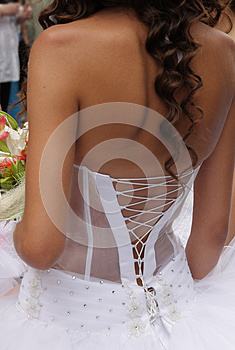 Lace Up Corset Royalty Free Stock Photography - Image: 25016187