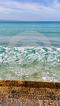 Steps To The Sea Stock Photo - Image: 25016460