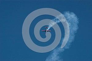 Aerobatics Plane Stock Images - Image: 25020274