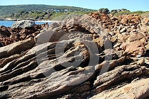 Rocky Coast At Yallingup Royalty Free Stock Photo - Image: 25021495