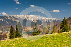 Landscape With Mountains In The Summer Royalty Free Stock Image - Image: 25026706