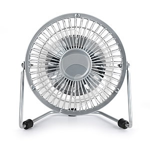 Modern Electric Cooler Fan Royalty Free Stock Image - Image: 25036626