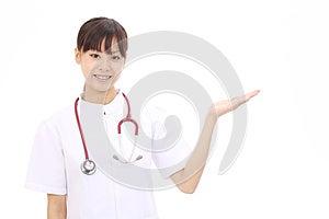 Young Asian Female Nurse Stock Image - Image: 25043401