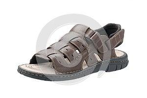 Leather Sandal Stock Image - Image: 25043411