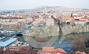 Panoramic View. Tbilisi. Georgia. Stock Photos - Image: 25044233