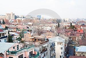 Panoramic View. Tbilisi. Georgia. Stock Images - Image: 25044304